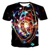 Camiseta Informal De Verano para Hombres Y Mujeres, Moda 2020, Nueva Camiseta con Estampado De Calavera Creativa De Manga Corta, Ropa De Calle con Impresión 3D-12_4XL
