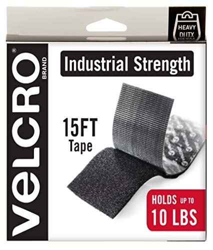 VELCRO Brand Heavy Duty Tape with Adhesive | 15 Ft