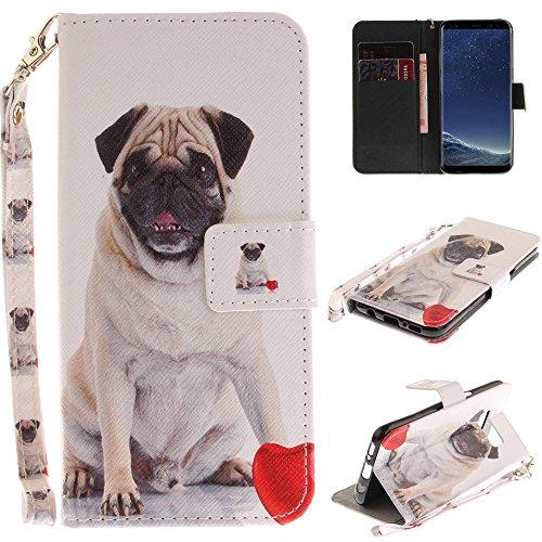 Ooboom® Motorola Moto E4 Plus Hülle Flip PU Leder Handy Tasche Hülle Cover Schutzhülle Wallet Ständer Karte Halter für Motorola Moto E4 Plus - H&