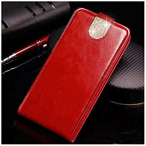 LIANLI - Funda de piel con tapa para Lenovo S660 S60 S820 S850 S856 S860 S90 S920 S580 A859 P70 A2010 P1M Z90 A536 A319 P780 Coque Shells (color: rojo diamante BZ, tamaño: para Lenovo S660)