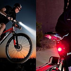 Tobole Solarstorm 6600Lm del faro del Cree x3 bicicleta de la bici llevó la linterna Linterna Negro Con 4x18650 batería 6400mAh (3 * T6, Negro) [Clase de eficiencia energética A]