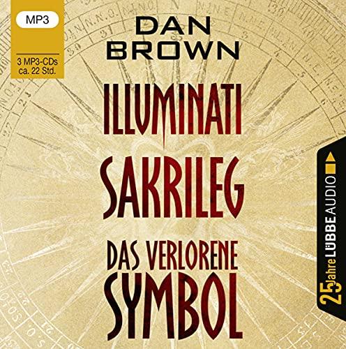 Illuminati   Sakrileg   Das verlorene Symbol: . Jubiläumsausgabe.: 1-3
