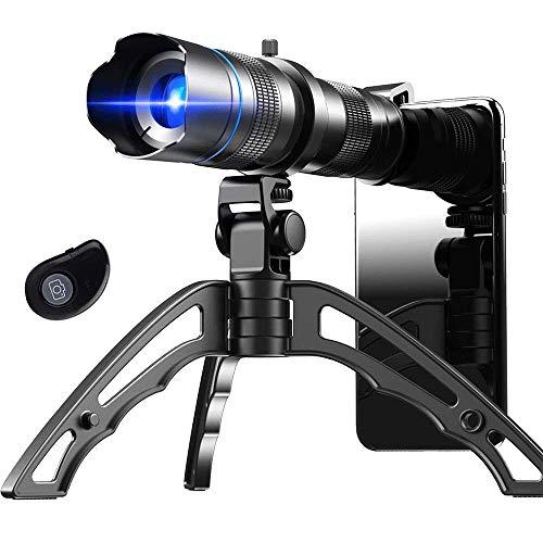 Apexel HD 20-40X Handy Teleskop ZoomObjektiv, Teleobjektiv für Handy mit Stativen für das iPhone 12 Pro Huawei P40 Samsung und mehr
