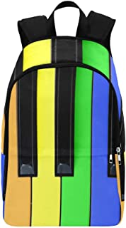 Music and Joy for Kids Shutterstock Casual Daypack Travel Bag College School Backpack for Mens and Women