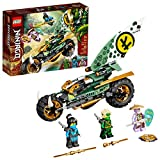 LEGO NINJAGO Lloyd's Jungle Chopper Bike (71745) is an awesome 2-in-1 ninja vehicle with a ninja bike and surfing toy to give kids a world of play possibilities Ninja toy comes with 3 minifigures: Island Lloyd and Island Nya, each armed with a weapon...