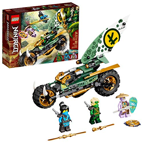 LEGO NINJAGO Lloyd's Jungle Chopper Bike 71745 Building Kit; Ninja Bike Toy Featuring NINJAGO...