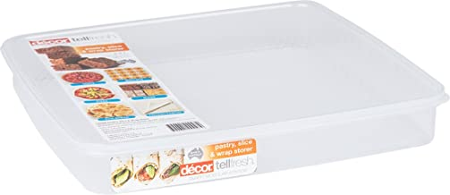 Décor Food Storage Container for Pastry Sheets, Slices and Pita Breads 2.5L