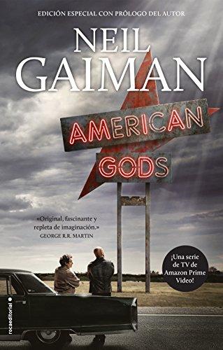 Portada del libro American Gods de Neil Gaiman