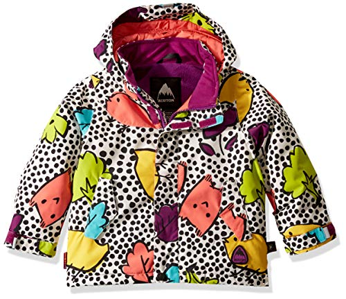 Burton Kids Elodie Jacket, Hoos There, 4T