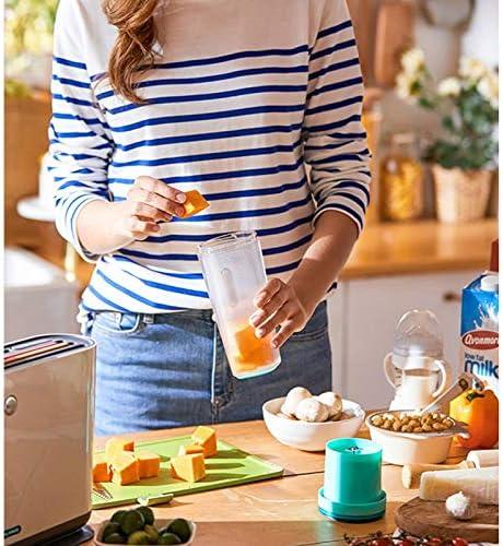 ECSWP Extérieur jus mini portable tasse de jus rechargeable de poche Mini alimentaire Blender Milkshake machine (Color : A) A