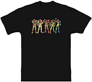 Metroid Samus Evolution Classic T Shirt