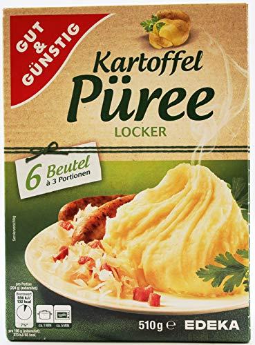 Gut und Günstig Kartoffel-Püree locker, 18er Pack (18 x 510g)