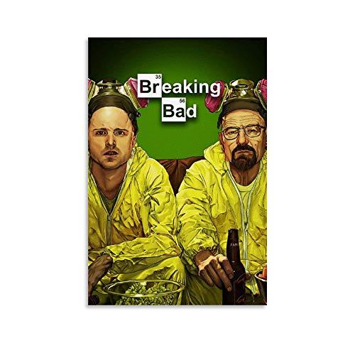 LIANGBO Breaking Bad Displate - Poster artistico da parete con immagine moderna della famiglia, 30 x 45 cm
