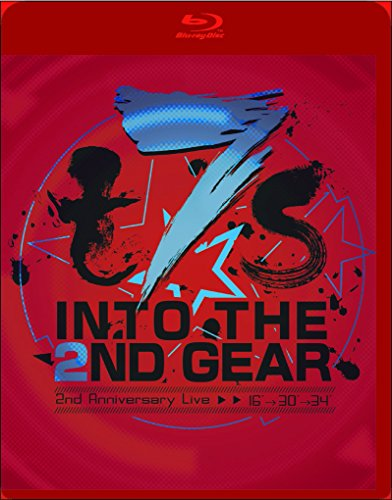 【Amazon.co.jp限定】t7s 2nd Anniversary Live 16'→30'→34' -INTO THE 2ND GEAR-【初回生産限定盤】(オリジナル絵柄B2布ポスター付) [Blu-ray]