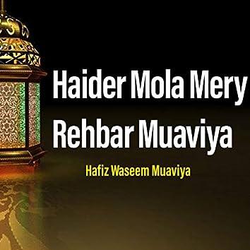 Haider Mola Mery Rehbar Muaviya
