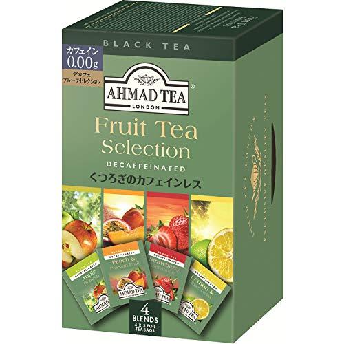 AHMAD TEA デカフェフルーツセレクション 40g