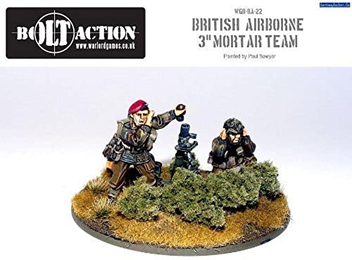British Para 3  Mortar - Warlord Games by Warlord Games