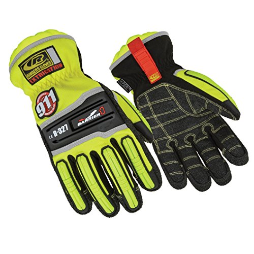 Ringers Gloves R-327 Extrication Barrier1, Heavy Duty Extrication Gloves, Medium