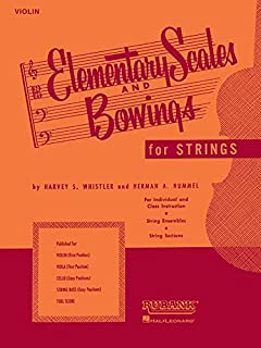 Elementary Scales and Bowings - Violin: (First Position)