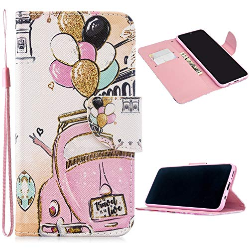 Cheapest Prices! Miagon Full Body Case for Samsung Galaxy S8 Plus,Colorful Pattern Design PU Leather...