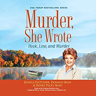 Murder, She Wrote: Hook, Line, and Murder audiobook cover art