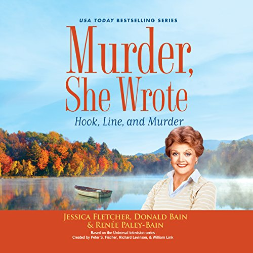 Murder, She Wrote: Hook, Line, and Murder cover art