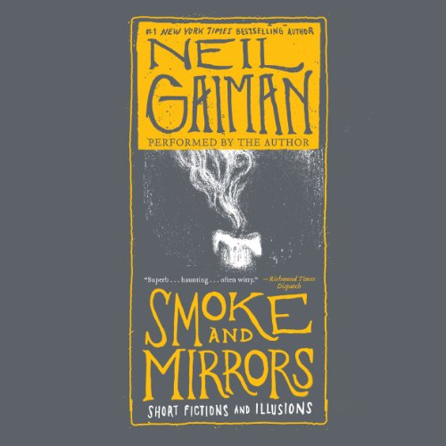 Smoke and Mirrors audiobook cover art
