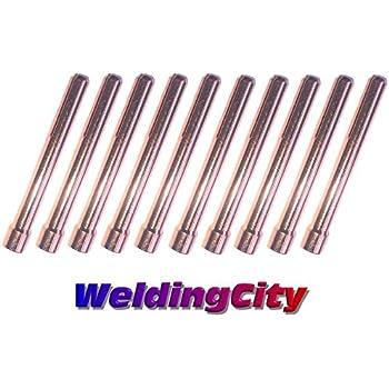 "10pcs 10N28 1//8/"" TIG torch weld collet body WP17 18 26 B"