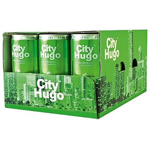 60 Dosen City City Hugo 6.9% Vol. Holunderblüte & Limette a 200ml