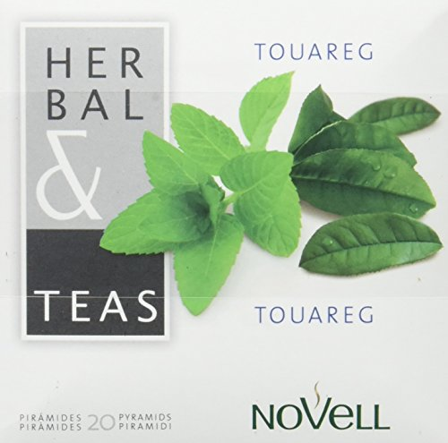 Cafes Novell Té Verde - 20 x 2, total 40 Pirámides