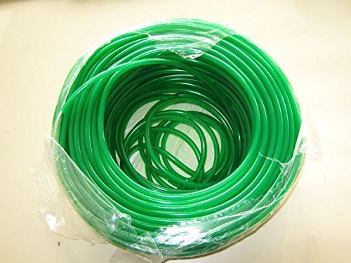 Tuyau à air en PVC vert de 25 m - 4/6 mm.