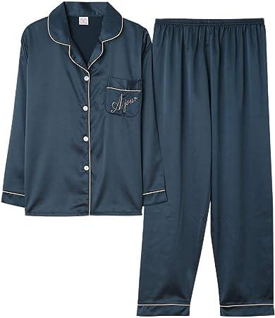 Pijama De Satén para Mujer,Conjuntos De Pijamas De Satén De ...