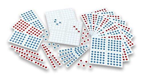 Betzold 86978 - Wendeplättchen magnetisch - Tausendersatz - Mathematik Rechnen Lernen Zahlen Schule Kinder Schüler Unterricht Lehrmittel trainieren üben Übungen Rechenaufgaben