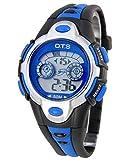 OTS - Montres de Sports Enfants Bracelet en Caoutchouc avec LED 7 Couleurs Lumière -...