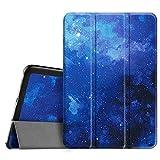 Fintie Hülle für Samsung Galaxy Tab S2 8.0 T710 / T713/ T715 / T719 (8 Zoll) Tablet-PC - Ultra Schlank Superleicht Ständer SlimShell Cover Schutzhülle mit Auto Schlaf/Wach Funktion, Sternenhimmel