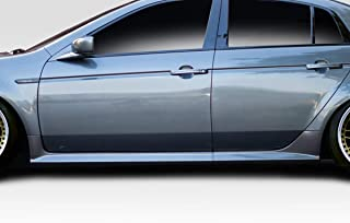 Extreme Dimensions Duraflex Replacement for 2004-2008 Acura TL Aspec Look Side Skirts - 2 Piece