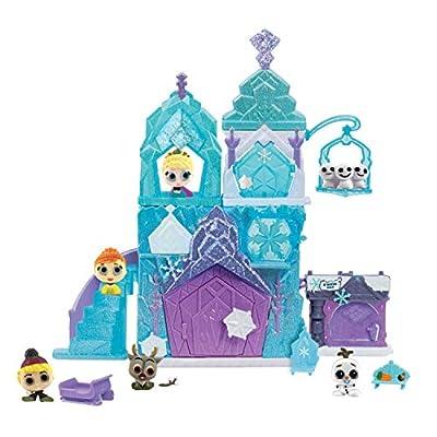 Disney Doorables Deluxe 15-Piece Frozen Ice Palace Playset, Amazon Exclusive