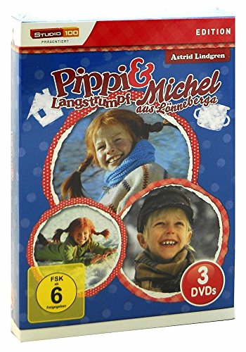 DVD Box Pippi Langstrumpf und Michel aus Lönneberga 3 DVD 286 Min. [DVD]