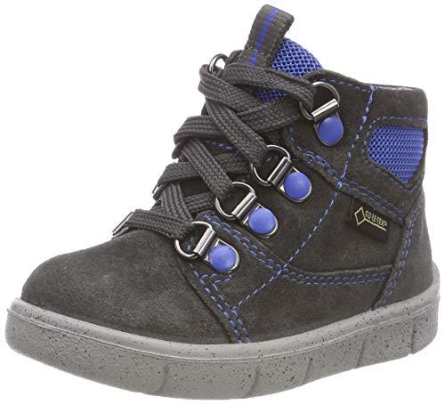 Superfit Baby Jungen Ulli Sneaker, Grau (Grau/Blau 20), 22 EU