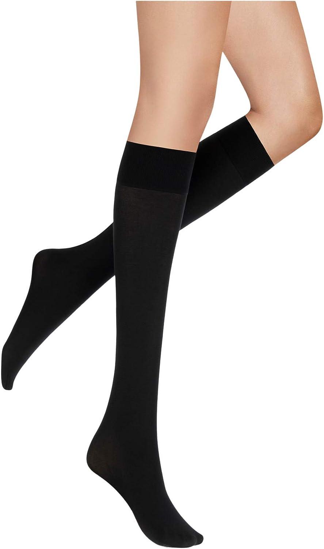 Sanpellegrino Doppiofilo 70 Opaque Knee Highs