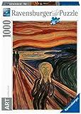 Ravensburger Puzzle 1000 Piezas, Munch: El Grito, Puzzle Arte, Puzzle para Adultos, Rompecabezas Ravensburger de Alta Calidad