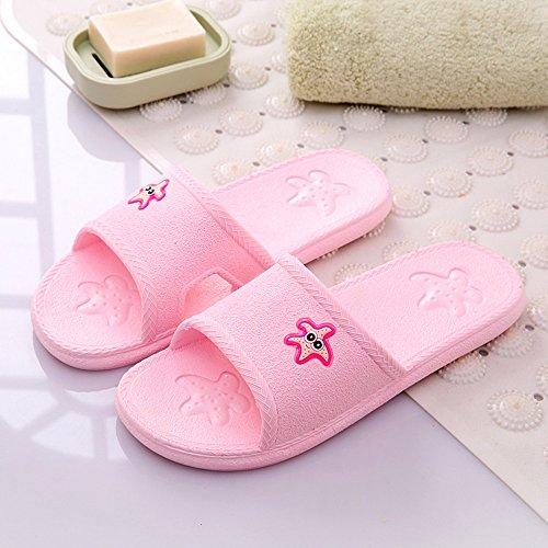 Confortevole Pattini freddi freddi del massaggio antisdrucciolevole della stanza da bagno domestica della stanza da bagno domestica di pattini Pattini freddi sveglie della casa del pavimento (7 colori