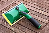 Decking Shed and Fence Paint Pad Treatment Timber Stain Applicator - Specialist Paint Pad Designed For Applying Paint Stains and Treatment to Decking Sheds and Fences
