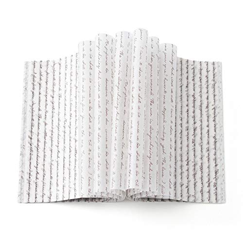 100 pcs wax paper sheets Greaseproof Waterproof Paper Wrapping Tissue Food Picnic Paper for Food Basket Liner Applicable scenarios Restaurants Churches BBQs,School Carnivals Baking, Cooking, Frying