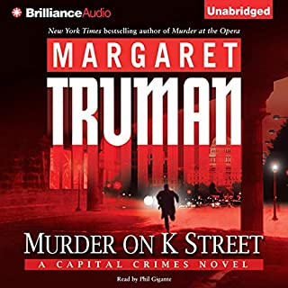 Murder on K Street audiobook cover art