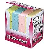ポストイット ふせん 100%再生紙シリーズ 7525mm バリューパック カラー4色 1箱(40冊)