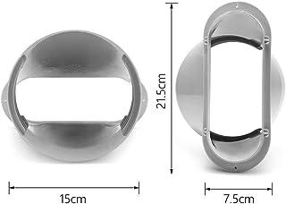 Dongbin Placa de Ventana Enster Adaptador Kit, Kit de la Manguera de Escape para acondicionadores de Aire portátiles (adaptadores), Accesorios de Aire Acondicionado móviles para Tubos 13 cm