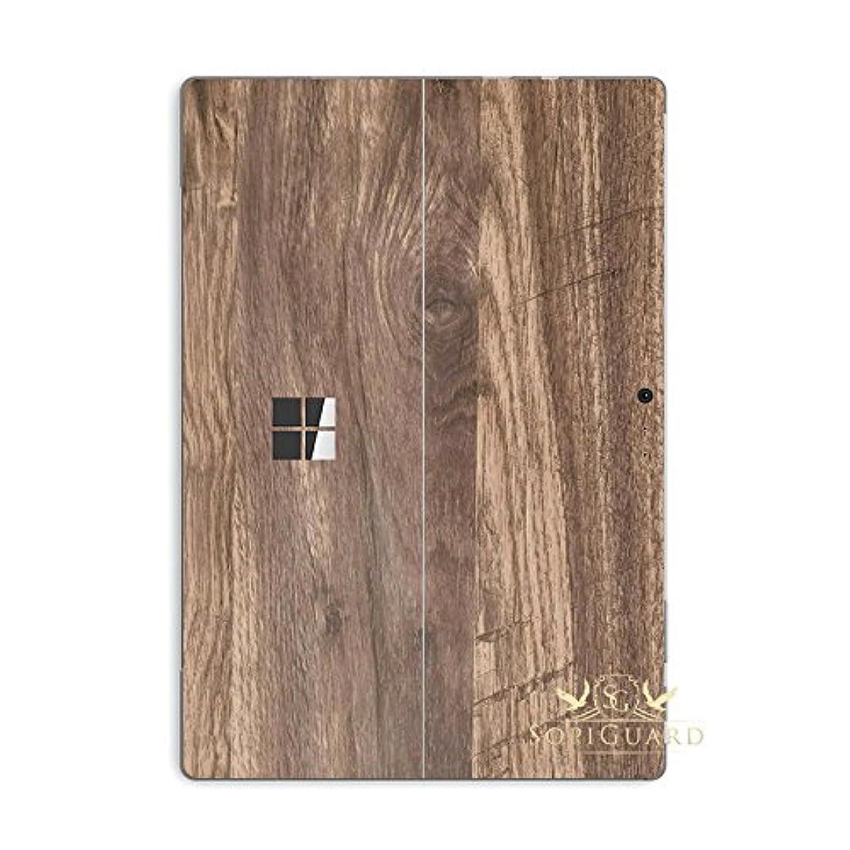 SopiGuard Skin for Microsoft Surface Pro 6 Precision Edge-to-Edge Vinyl Sticker (Wood Oak)