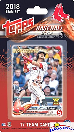 WORLD CHAMPIONS! Boston Red Sox 2018 Topps Baseball EXCLUSIVE Limited Edition 17 Card Complete Team Set with Andrew Benintendi, Mookie Betts, Rafael Devers RC & More! Shipped in Bubble Mailer! WOWZZER