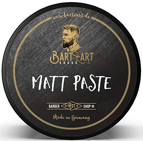 BartZart 100ml Haarwachs I Matt Paste für perfektes Styling mit starkem Halt I Haar Wax für Männer I Haarstyling Pomade für mehr Volumen im Haar